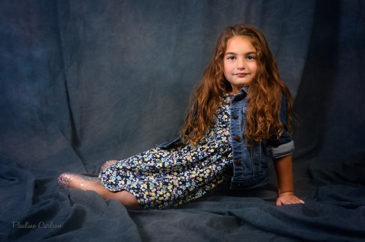 Pauline's Photography, child portraiture in studio