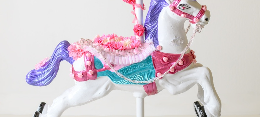Meet our Carousel Horse!